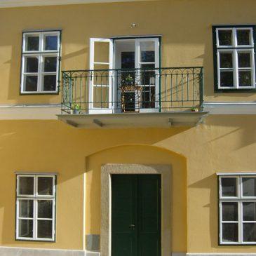 Kastenfenster, St. PETER, Dornbach Buschenschank
