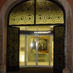 Haupteingang Kaisergruft