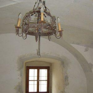 Isolierglasfenster im Gewölbe