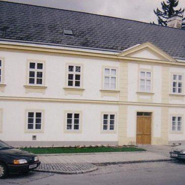 Kastenfenster im Pfarrhof WOLKERSDORF