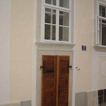 Barockhaus Aussenfenster