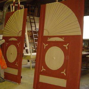 Sonnentor zur Reparatur in der Werkstätte