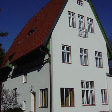 Erbaut von Architekt Olbrich