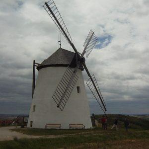 Windmühle vor dem Wind