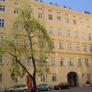 Hist. Fassadenfenster, Stift Schotten
