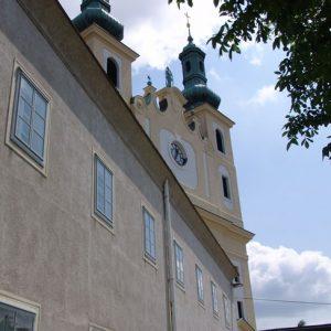 Kastenfenster neu mit Kirche
