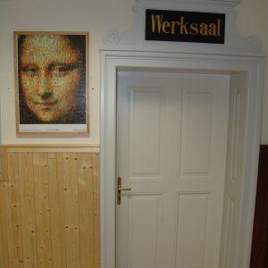 Werksaaltür