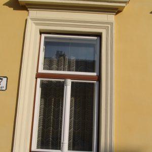 Leistenpfostenstock-Kastenfenster