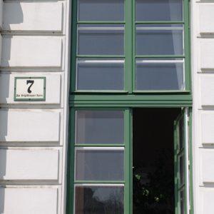 Kastenfenster Schleusengebäude
