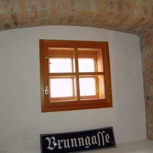 Kastenfenster mit Kreuzsprossen