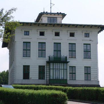 Schleusengebäude, Am Brigittenauer Sporn