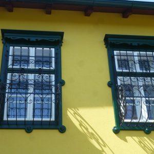 Leistenpfostenfenster