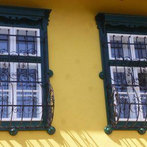 Leisten-Kastenfenster