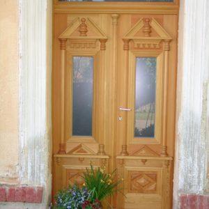 Kastenstock-Eingangstür