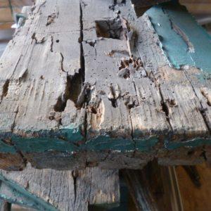 vermorschtes Holz