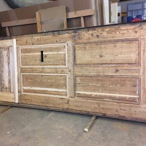 Fertige Holzergänzung